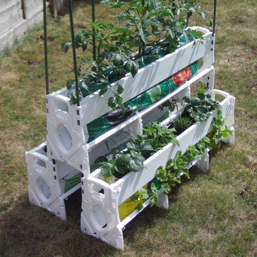 grow bag planter, Uni-Grow, holder for grow bags