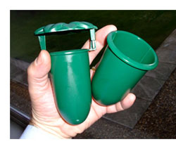 slug pub, slug and snail control for garden slugs, garden snails using the beer trap or yeast trap